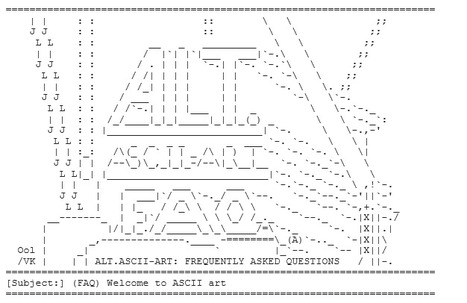 Alt.Ascii-Art FAQ | ASCII Art | Scoop.it