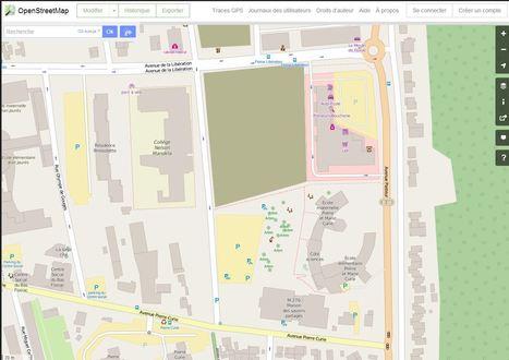 Usage du numérique au primaire. OpenStreetMap Apprendre la géographie en cartographiant son quartier | Vie numérique  à l'école - Académie Orléans-Tours | Scoop.it