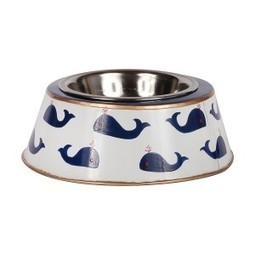 Whales Blue  Small Dog Bowl | Best Collection of Home Decor | Scoop.it