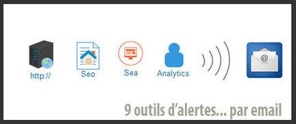 9 outils d'alerte email pour webmarketeur | Agence BWA - Veille | Scoop.it