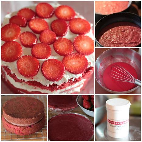 La mia Red StrawVelvet cake gluten free: il grande cuore delle donne.   FOOD BLOG   Scoop.it