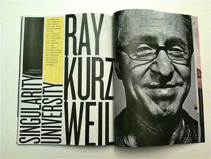 Google recrute Ray Kurzweil, l'homme de la singularité technologique | Going social | Scoop.it