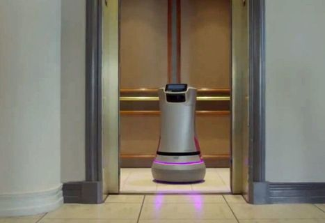 Robot workers are showing up in malls, hotels, and parking lots | The Robot Times | Scoop.it