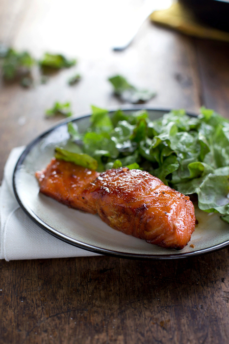 Caramelized Salmon - Pinch of Yum   The Man With The Golden Tongs Goes All Out On Health   Scoop.it