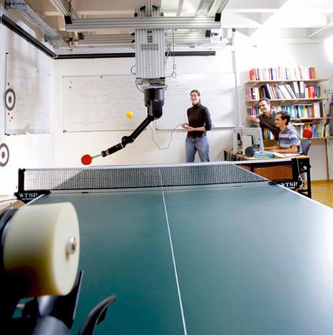 Jouer au tennis de table avec un robot | Actualités robots et humanoïdes | Scoop.it