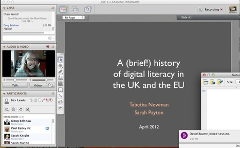 JISC Digital Literacies programme: A history of Digital Literacy in UK & EU #JISCDigLit | Digital Literacy - Education | Scoop.it