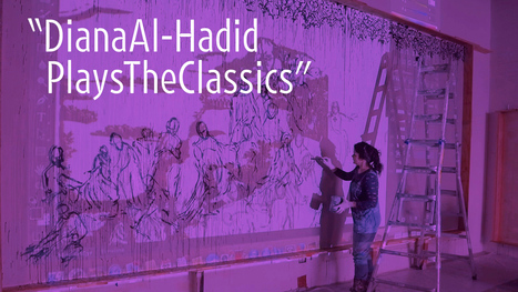 Diana Al-Hadid Plays the Classics | ART21 New York Close Up | The Aesthetic Ground | Scoop.it