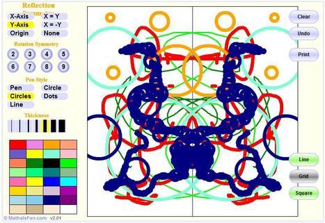 Symmetry Artist | Symmetry Games | Scoop.it