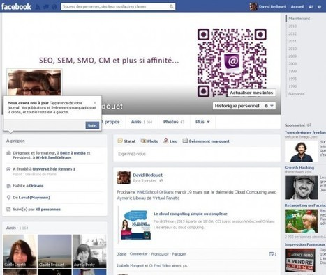 6 nouveautés Facebook que vous devez connaître | Communication digitale, web et social media | Scoop.it