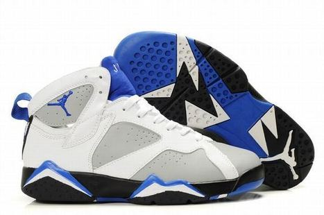 Air Jordan 7 Retro White/Black/Blue Women's | new and popular list | Scoop.it