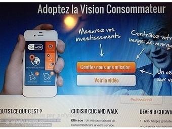 Clic and Walk : un outil marketing français primé au niveau mondial | Social media | Scoop.it