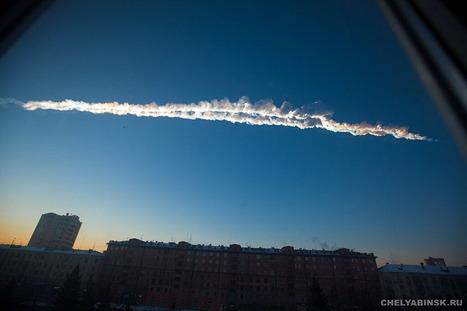 Le ciel de CHELYABINSK au matin du 15 février 2013 | Epic pics | Scoop.it