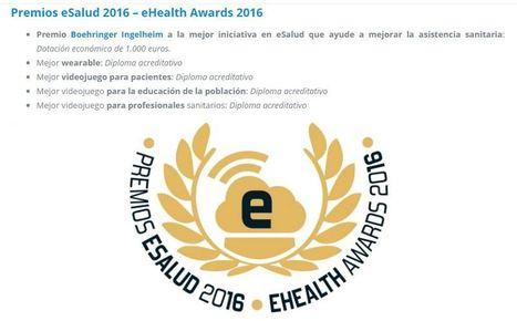 Abierto el plazo de convocatoria de los premios eSalud 2016 | eSalud Social Media | Scoop.it