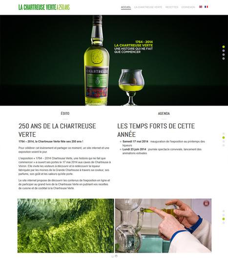 La CHARTREUSE VERTE a 250 ans | liqueur Chartreuse | Scoop.it