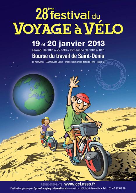 Festival du voyage à vélo 2013   RoBot cyclotourisme   Scoop.it