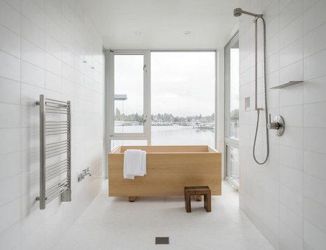 10 Minimalist Bathrooms of Our Dreams - Design Milk | CLOVER ENTERPRISES ''THE ENTERTAINMENT OF CHOICE'' | Scoop.it
