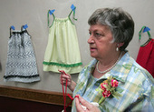 Sew willing to help: LaMoure woman honored for making, giving items to others - Jamestown Sun | Crafts | Scoop.it