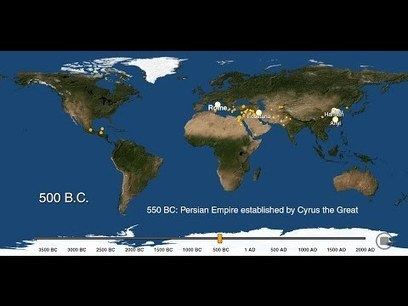 A Visual History Of Urbanization, From The World's First City In 3700 BC To The Present | web maps | Scoop.it