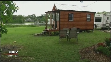 Group using tiny houses to help Detroit homeless problem | itsyourbiz | Scoop.it