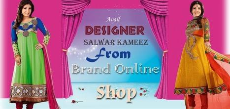 Anarkali Churidar Suits Online, Designer Anarkali Dresses Australia | Clothing Shop Online | Scoop.it
