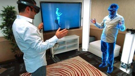 Virtueel teleporteren met Microsoft-bril | Digitale informatievoorziening in onderwijs | Scoop.it