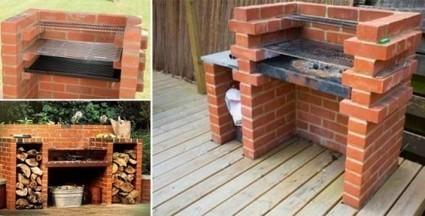 Как построить барбекю из кирпича для загородного двора | ars | Scoop.it