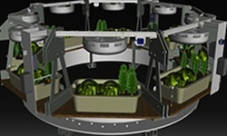 Space Gardening? Ohio State Creates Food-production System for Future NASA Missions | AnnBot | Scoop.it