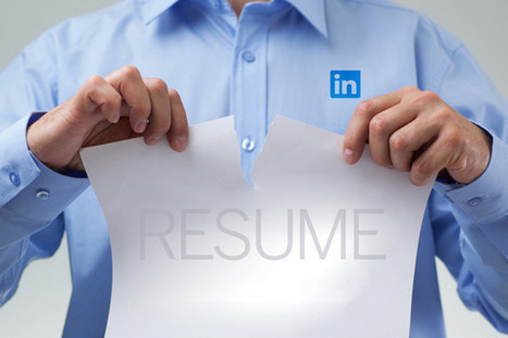 Is LinkedIn Killing the Traditional Resume? | La lettre de Toulouse | Scoop.it