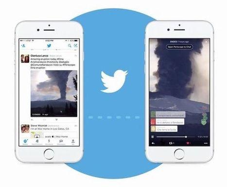 Twitter intègre Periscope dans son fil d'actualités | Web et reseaux sociaux | Scoop.it