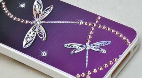 Butterfly studded bling jeweled iPhone 4 case | Apple iPhone and iPad news | Scoop.it