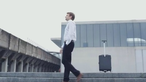 This Suitcase Will Follow You Around on Your Next Business Trip - Literally | Technology | Scoop.it
