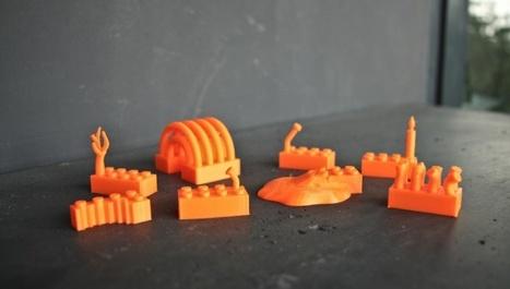 Lego pourrait proposer d'imprimer des briques à domicile | Les espaces publics numériques du Chesnay | Scoop.it