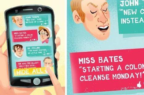 Jane Austen's Guide to Social Media | Vloasis vlogging | Scoop.it