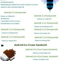 #Android Application Development | Android Versions [Infographic] | Mobile Management | Scoop.it
