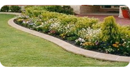 Decorative lawn edging at Garden Edging   Garden Edging Concrete Curbing and Property Services   Scoop.it