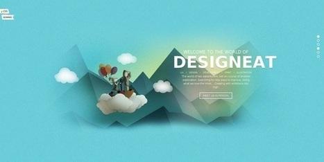 30 webdesign tendances pour Septembre 2014 | Technologies | Scoop.it