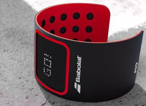 Babolat et PIQ lancent un bracelet connecté pour le Tennis | Robolution Capital | Scoop.it