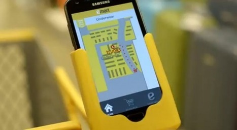 Corée du Sud : Emart utilise le Lifi et le mobile pour tester du push promo géolocalisé en magasin - Ooh-tv | Hyperlieu, le lieu comme interface à l'écosystème ambiant | Scoop.it