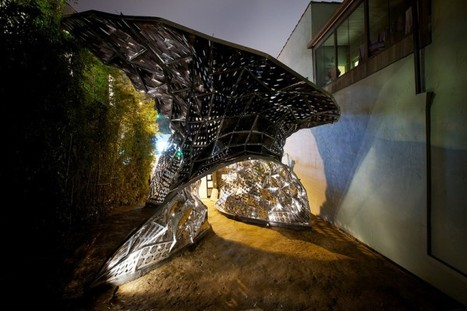 "Biologist-Turned-Architect Invents ""Breathing"" Metal Building Skin 