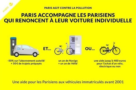 Le Conseil de Paris adopte son plan anti-pollution | Transports Alternatifs et Éco-Mobilité | Scoop.it