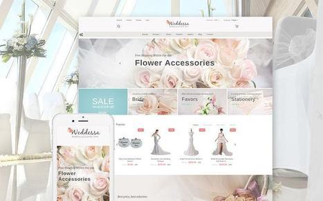 Weddessa - Responsive Wedding Store Prestashop Theme to Sell Wedding Accessories Online   platinastudio   Scoop.it