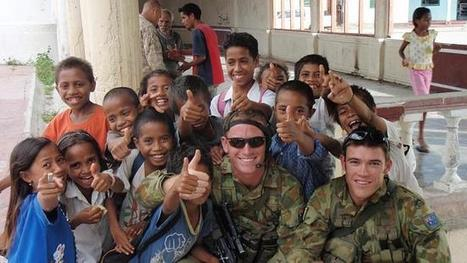 Former paratrooper to visit East Timor seven years after serving - The Daily Telegraph | Timor Leste | Scoop.it