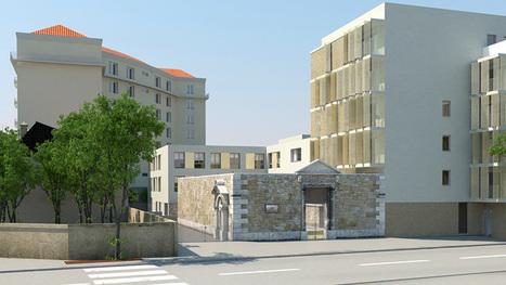 Résidence Richelieu : une partie de l'église intégrée au projet - Viva interactif | Le journal de l'habitat | Scoop.it