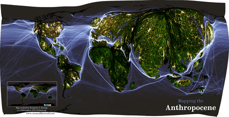 Mapping the Anthropocene | Geospatial Human Geography | Scoop.it