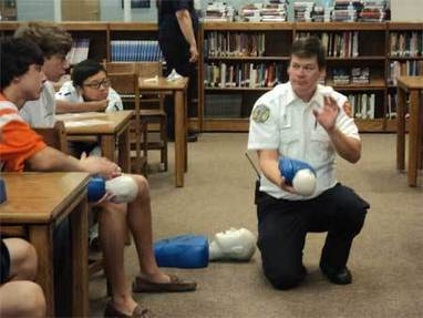 Students being trained in CPR, AEDs - Madison County Journal | Life Saving | Scoop.it