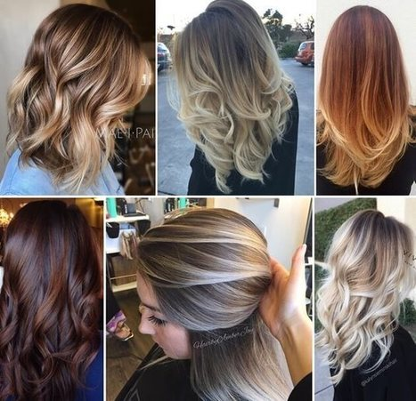 25 Stylish Balayage Hairstyles for Your Inspiration   Stylish Board   Scoop.it