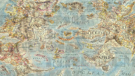 Navigate The Internet On This Stunning Antique Map Of The Online World | Better teaching, more learning | Scoop.it