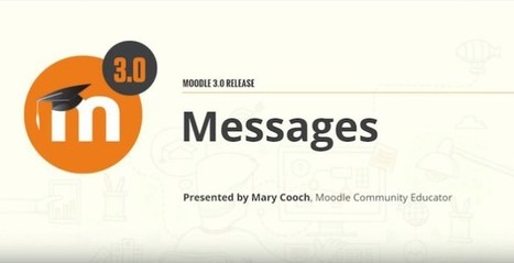 Did You Know You Can Now Delete Messages In Moodle 3.0? | elearning stuff | Scoop.it