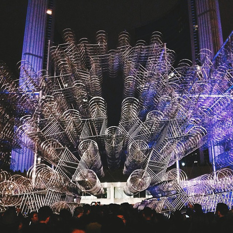 This mesmerizing Ai Weiwei installation is made from 3,144 bicycles | D_sign | Scoop.it