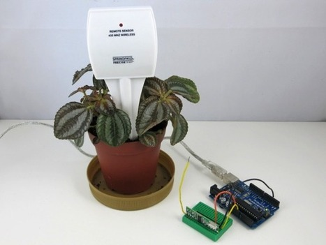 Reverse engineer a cheap wireless soil moisture sensor using Arduino or Raspberry Pi | Arduino, Netduino, Rasperry Pi! | Scoop.it